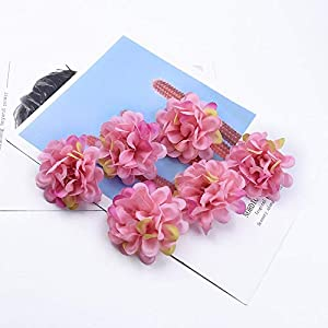 Artificial and Dried Flower 50/100 Pieces Silk Carnation Wedding Decorative Flowers Wreaths Christmas Decorations for Home Scrapbooking Artificial Flowers