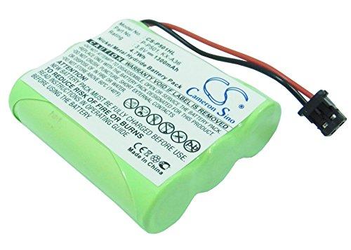 Battery for Panasonic HHR-P505, KC-TC917HSB, KX-A36, KX-FPC135, KX-FPC141