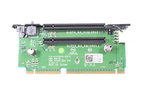 Dell PowerEdge R720 R720XD PowerVault NX3200 PCI-E 3.0 X16 2 Slots Riser Card FXHMV 0FXHMV CN-0FXHMV