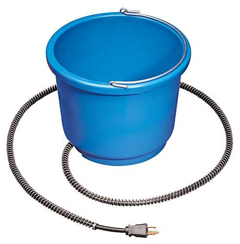 API Heated Bucket Heated Round Bucket, 9 Quart (Item No. 9HB)