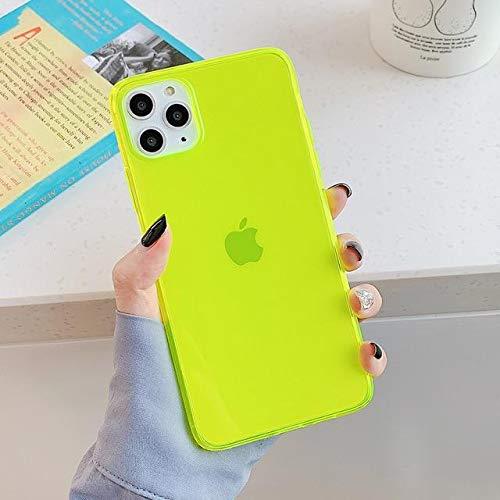 Case iPhone 11 Pro Max - Case Summer - Cor Amarelo Neon