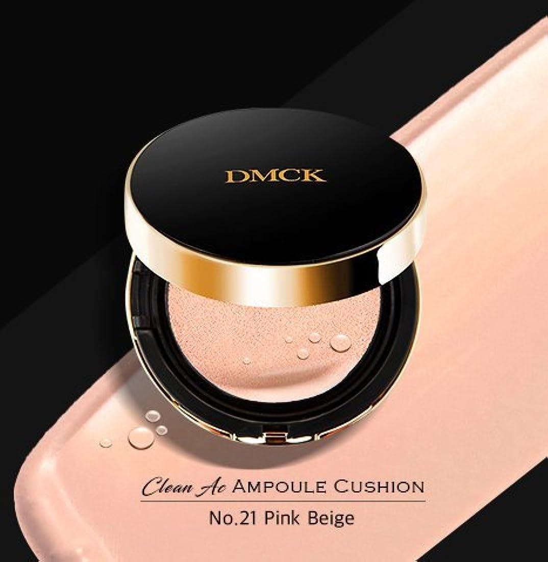 テーマ固体ラメDMCK Clean Acne Ampule Cushion SPF50+/PA+++ (021 Watery Pink Beige)