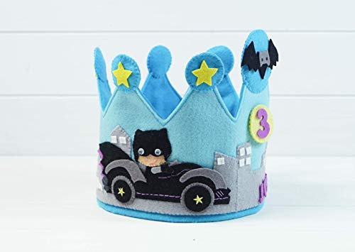 Corona Cumpleaños Batman