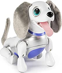 zoomer Playful Pup, Responsive Robotic Dog, electronic animal toys, electronic toys for kids, electronic gifts, toddler electronics, learning toys for toddlers, childrens electronic toys, musical toys, best electronics for kids, cool toys for kids, electronic educational toys, electronic games for kids, developmental toys, interactive toys, early learning toys, Tech Toys for kids