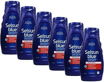 Selsun Blue Dandruff Shampoo 11 oz Medicated  Pack of 6