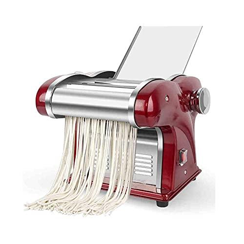Macchina per Noodle elettrica in Acciaio Inossidabile, Macchina per Noodle Multifunzionale Verticale da banco per Uso Domestico, pressa per Noodle sicura e conveniente