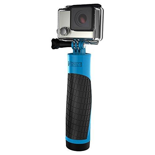 PNY The Action Grip - Agarre Flotante para cámara de acción, Color Azul y Negro