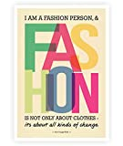 LAB NO 4 I Am A Fashion Person Karl Lagerfeld Fashion Quote