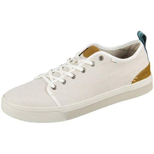 TOMS 10013211 - Zapatillas de Deporte para Hombre, Marfil...