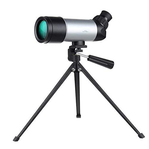 Nuokix Binoculares, Telescopio monocular 15x52 for Camping Bird Watching, Equipado con trípode, Gran Angular Objetivo monocular for Adultos Cuentos for niños Deportes al Aire Libre