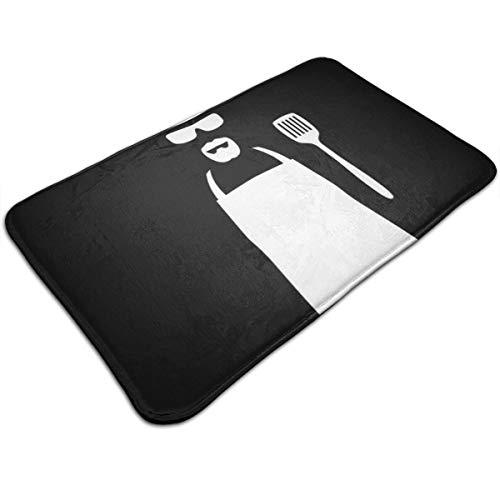 HUTTGIGH Breaking Bad We Have To Cook Heisenberg - Felpudo antideslizante para puerta de entrada, alfombra de baño, alfombra de cocina, 44 x 81 cm, absorbente