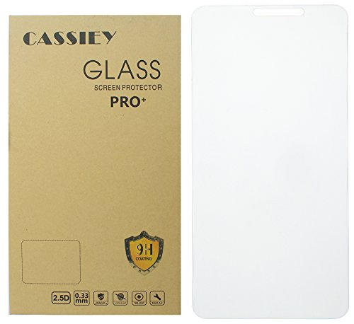 CASSIEY Tempered Glass Screen Protector for Honor 9 Lite (Tranparent) Full Screen Coverage (except edges) with Easy Installation Kit