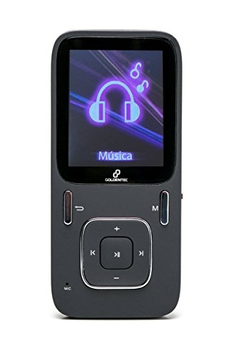 MP4 Player 8GB LCD 1.8' Goldentec Sport A1809 Preto