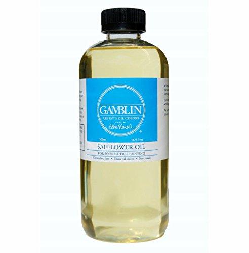 Gamblin Safflower Oil 16.9 oz Bottle