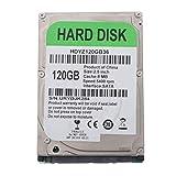 Almencla 2,5'' Hard Disk Meccanico HDD 250GB SATA 2 8M Disco Rigido Interno ad Alte Prestazioni per Computer - 120GB
