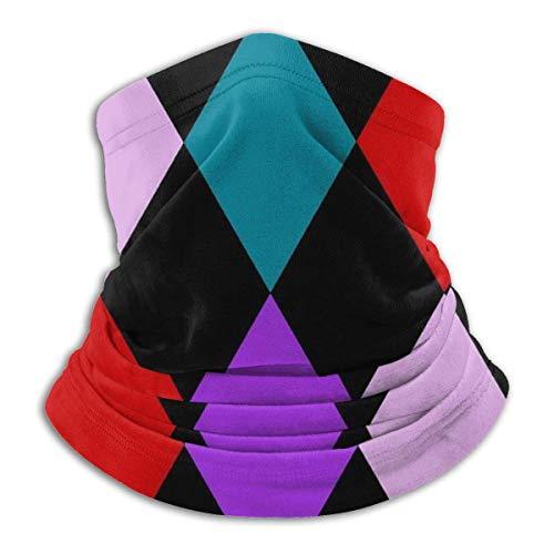 Simple Love Av Harlekin Diamanten Farbe Seaml Gesichtsmaske Bandanas Stirnband Hals Gamasche Kopfbedeckung für Staub im Freien Musikfestivals Sportgeschenk