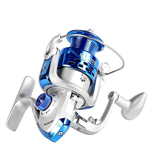 LQJin Carrete de Pesca Carpa Carrete de Hilado Carrete de Carbono Frente y Trasero Dragas de 18 kg MAX Drag 12BB Carrete de mar Barco de mar (Color : 12, Size : 6000 Series)