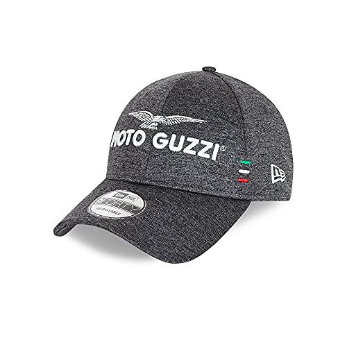 New Era - Gorra Moto Guzzi Shadow Tech 9Forty Strapback - Gris de color gris., gris, Talla única