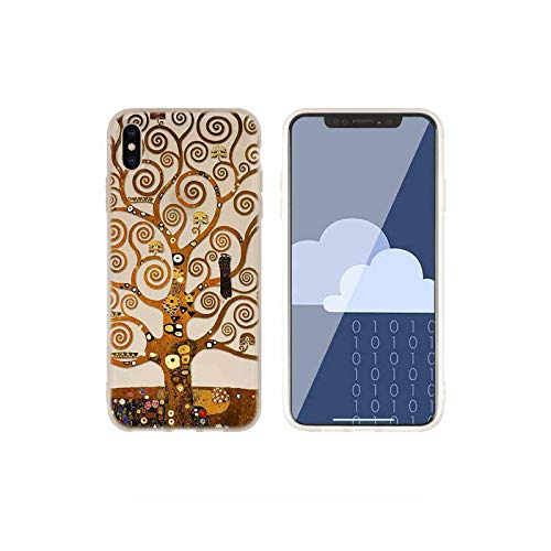 Fundas de silicona suave para iPhone 11 12 Pro X XS Max XR 6 6S 7 8 Plus 5 Mini SE 2021 Gustav Klimt art Baseus Clear photo is 3D mode-For iphone 6 6s