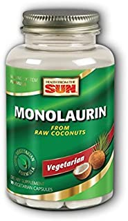 Monolaurin Health From The Sun 90 VCaps (Pack of 3)