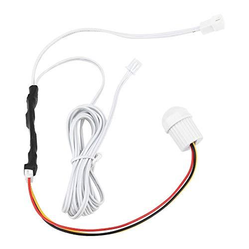 Interruptor de Sensor, DC5-24V 1.5A Mini Interruptor de inducción de Cuerpo Humano con Sensor infrarrojo Ajustable para luz