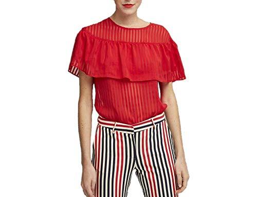 Dolores Promesas PV19 2009BROJO Camiseta sin Mangas, Rojo (Rojo 00), 40 (Tamaño del Fabricante:40) para Mujer