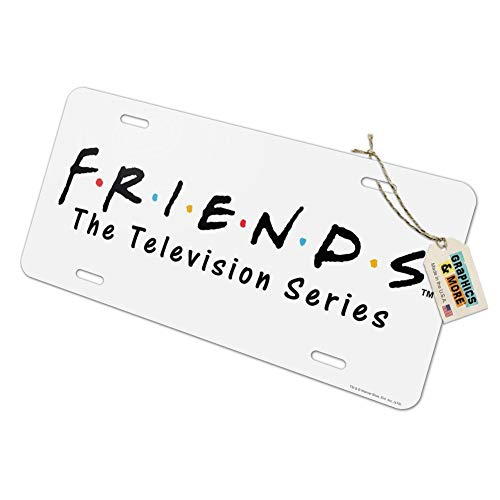 Graphics and More Friends Logo Novelty Metal Vanity Tag License Plate