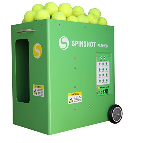 Spinshot-Player Tennis Ball Machine (Best Seller Ball Machine in the World)