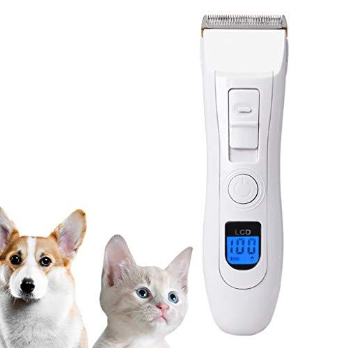 Oplaadbare Professionele Stille Draadloze Honden Katten Paardenverzorging Tondeuse - Tondeuse voor Huisdieren voor Paarden en Andere Huisdieren Pet Kit