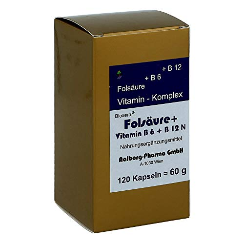 Folsäure+vitamin B6+b12 K 120 stk
