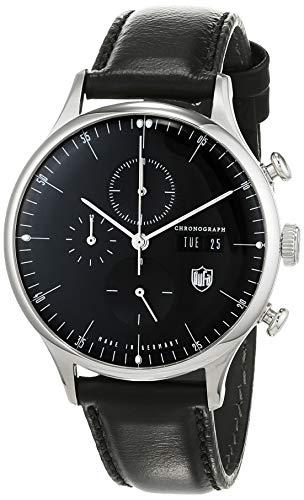 DuFa Deutsche Uhrenfabrik Orologio Analogico Quarzo Unisex con Cinturino in Pelle DF-9021-01