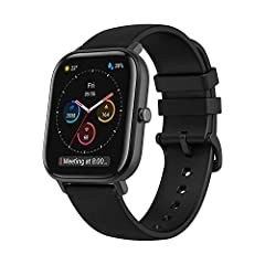 FITNESS, HEART RATE & SLEEP TRACKER: The Amazfit GTS fitness smartwatch precise optical heart rate monitoring allows you to accurately track real-time steps taken, all-day heart rate monitoring, distance traveled, calories burned, quality of sleep an...