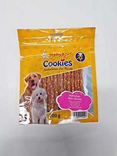 Hansepet Cookies Bâtonnets de Riz Poulet (5x200g)