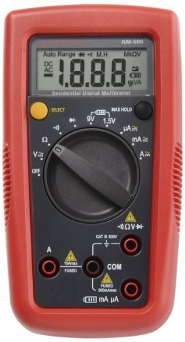 - Beha Amprobe - Multímetro digital Trms Am-500-Eur
