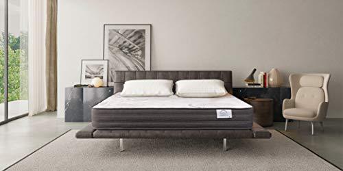 Lisabed Flex | Colchón Lisa-Flex 150 x 190 cm | Viscoelástico de Grafeno de Alta Densidad | Reversible (Invierno/Verano) | Gama Prestige Hotel | 24 cm (+/- 2 cm)