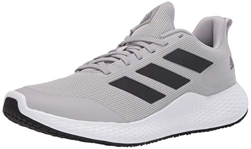 adidas Men's Edge Gameday Running Shoe, Grey, 11.5 M US