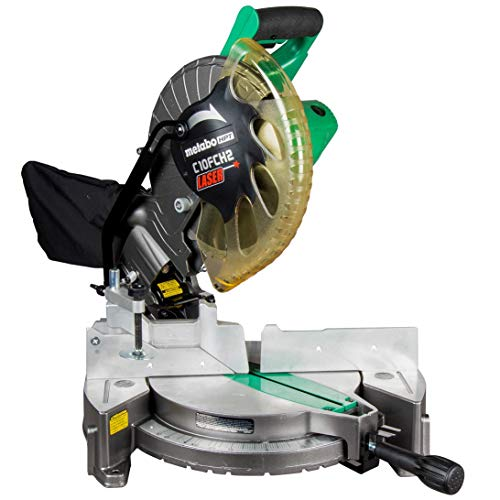 Metabo HPT 10' Compound Miter Saw | Laser Marker | 15-Amp...
