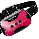 DogRook Rechargeable Dog Bark Collar - Humane, No Shock Barking Collar - w/2