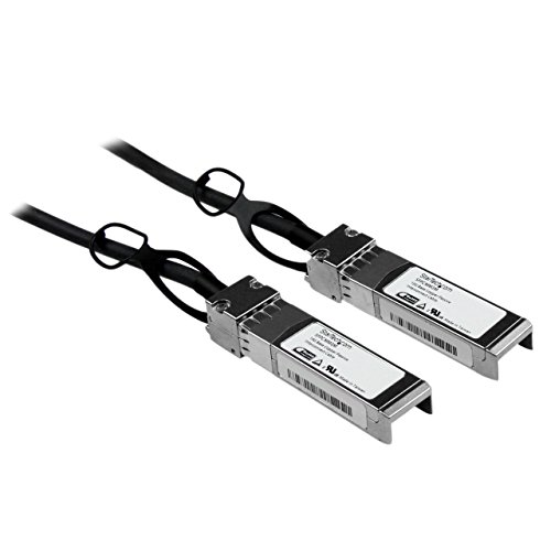 StarTech.com SFPCMM3M Cisco kompatibles SFP+ Twinax Kabel (3m, 10GBASE-CU SFP+ Direct Attach, passiv, 10Gigabit Kupfer Netzwerkkabel)
