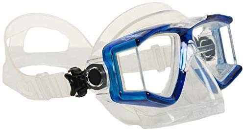 EVO Hammerhead+ Dive Mask with Purge Valve - Scuba Diving Mask - Diving Masks for Adults - Dive Mask - Scuba Mask - Scuba Diving Gear - Scuba Diving Equipment - Dive Gear - Free Diving Mask - Blue