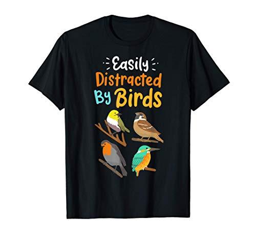 Bird Watching Birding Bird Lovers Gift T-Shirt
