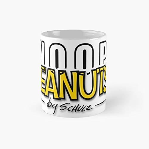 Taza clsica Snoopy  Peanuts by Schulz   El mejor regalo divertidas tazas de caf de 325 ml