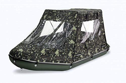 BARK Zelt für Schlauchboot (nur Zelt ohne Boot) Sonnendach Bimini Tent (330 x 160 cm - BT-330)