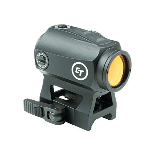 Crimson Trace 2.0 MOA Compact Tactical Red Dot Sight for Rifles, Electronic Sight CTS-1000 2.0 MOA Compact Tactical Red Dot Sight for Rifles, Electronic Sight