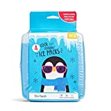 Fit & Fresh Cool Coolers Freezer Packs Slim Ice Pack for Lunch Box,...