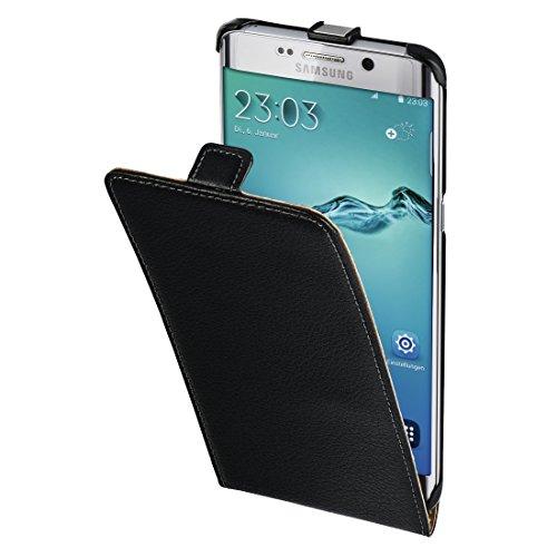 Hama Leder Hülle (für Samsung Galaxy S6 edge+) schwarz