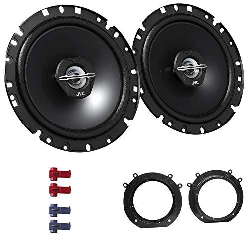 EHO Lautsprecherbundle Einbauset inklusive JVC CS-J1720X passend für Toyota ProAce 2013-2016 Türen vorne 600 W 170mm 2 Wege Koax