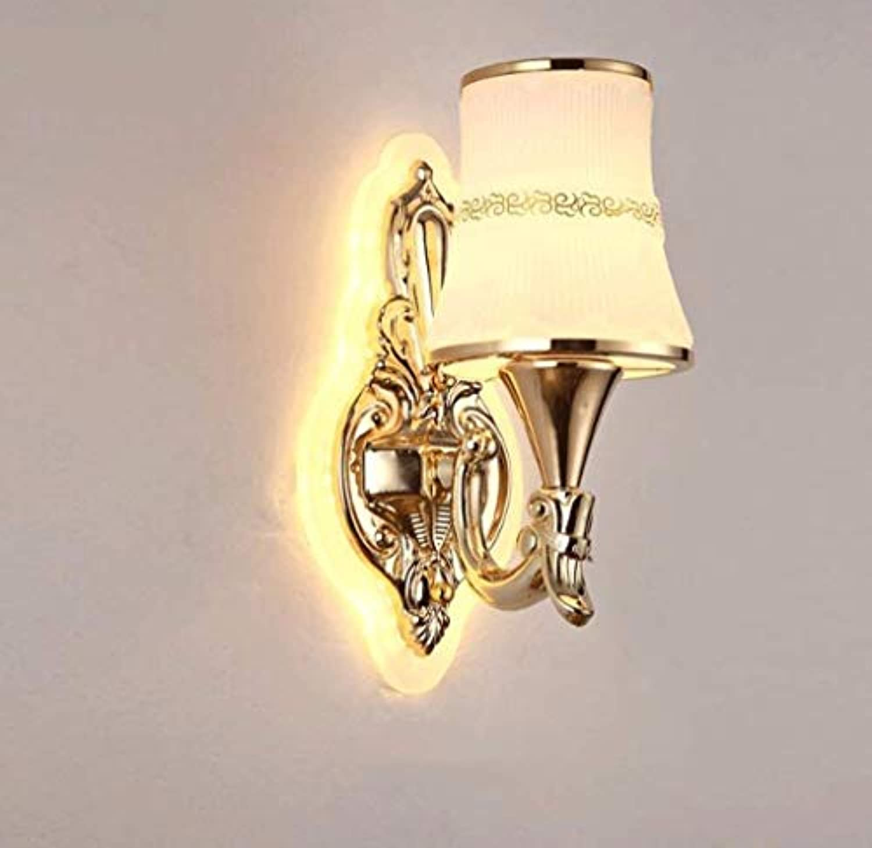 HhGold Eisen Lampe Wand Lounge Das Schlafzimmer Wand Bett Lampen und Rhren im Hotel verpflichtet, Beleuchtung (Farbe  Know-35  37 cm). (Farbe   Weiß-16  37cm)