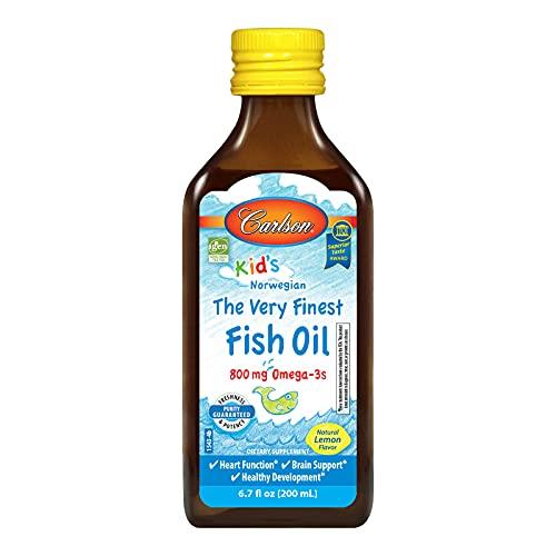 Carlson For Kids Very Finest Fish Oil Lemon, 200ml