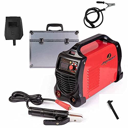 Saldatrice inverter 400 ampere valigia in metallo trasporto elettrodi professionale